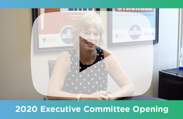 Apply for a seat on the Ohio REALTORS 2020 Executive Committee!