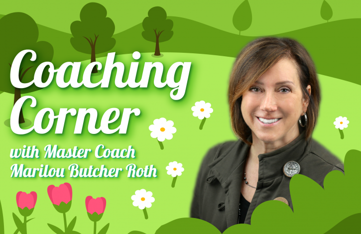 Coaching Corner: Let's compare...or not!