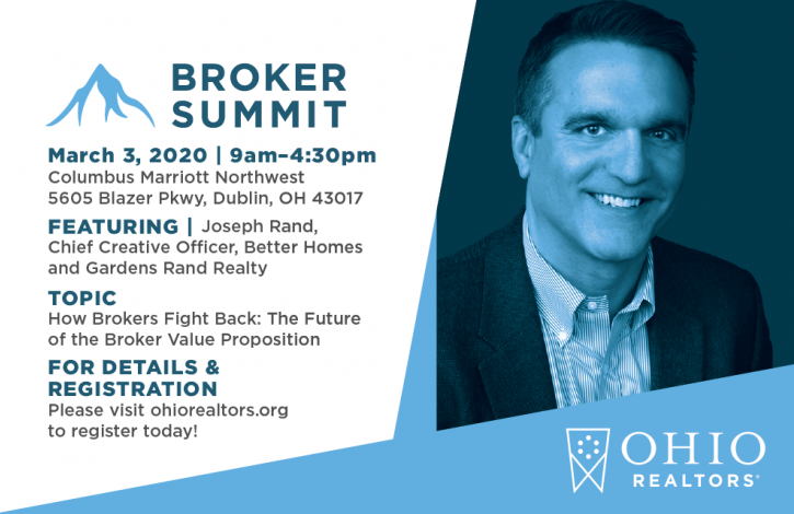 A 'Don't Miss' event for Ohio's real estate brokers!