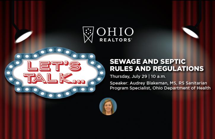 "Join Ohio REALTORS new ""Let's Talk"" series!"