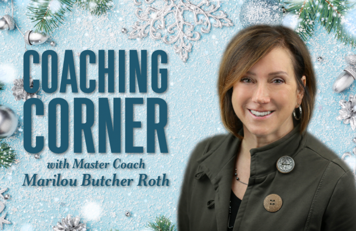 Coaching Corner: Another fun New Year's tip!