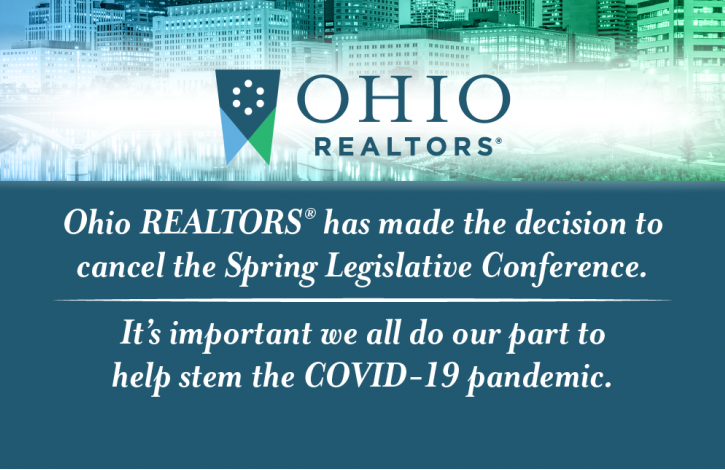 Ohio REALTORS cancels its upcoming Spring Legislative Conference