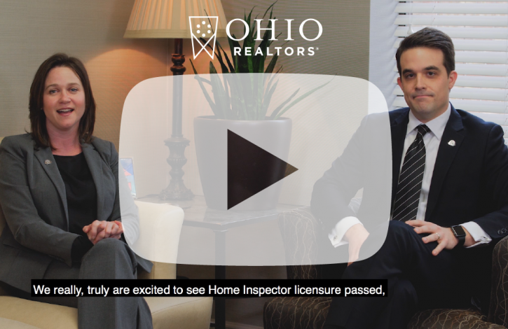 Ohio Statehouse Update: Passage of home inspector licensure and what to expect in 2019