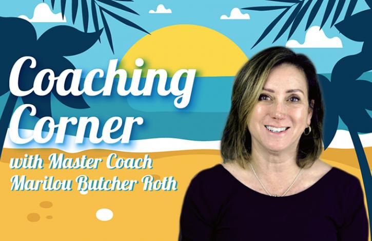 Coaching Corner: Finding new ways!