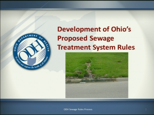 A look at Ohio's septic system rules