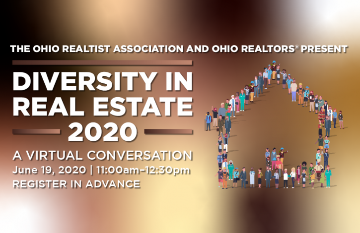 Ohio's Realtists & REALTORS offering a special webinar on Diversity in Real Estate