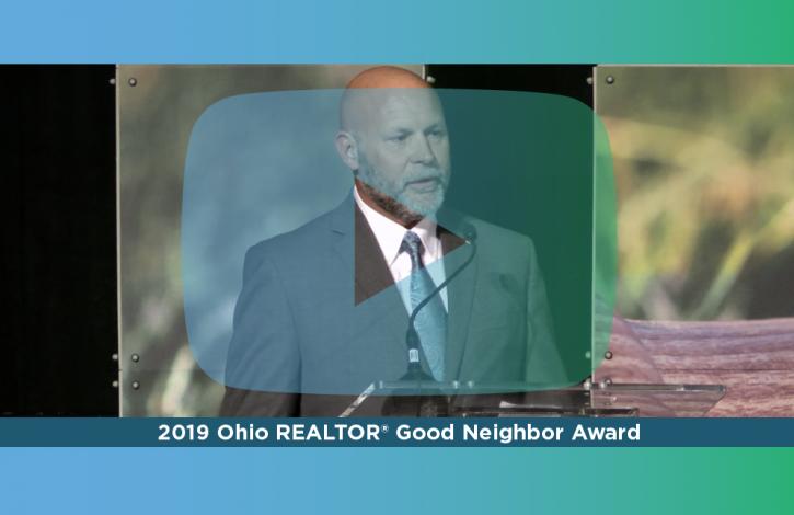 John Prazynski, Ohio REALTORS Good Neighbor recipient, reflects on the importance of service
