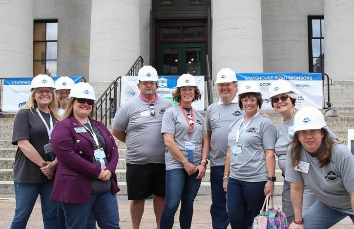 Ohio REALTORS partners with Habitat for Humanity of Ohio to spotlight affordable housing on the Statehouse grounds