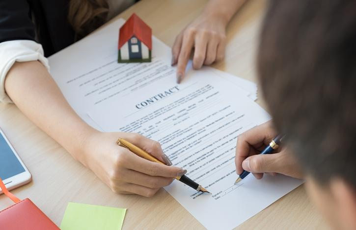 Home purchase contract signings fall in December