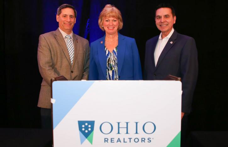 Meet the 2020 Ohio REALTORS Leadership Team: Reese, Task & Mangas
