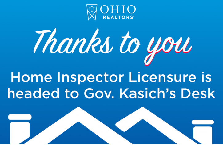 Home inspector licensure measure passes Senate, heads to Gov. Kasich