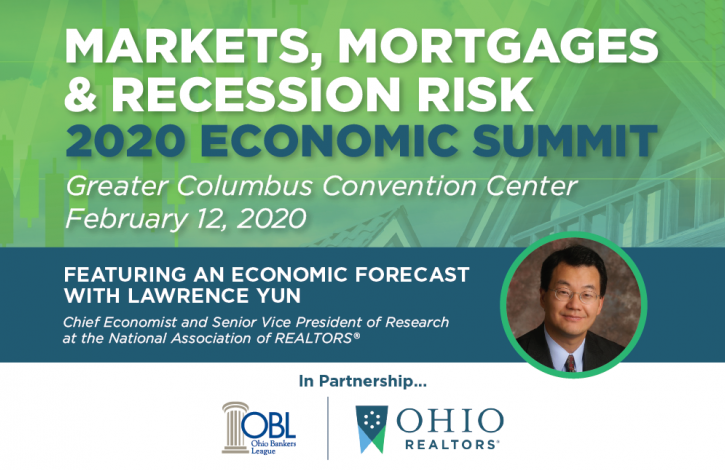 Ohio's REALTORS & Bankers League hosting Economic Summit featuring NAR's Lawrence Yun