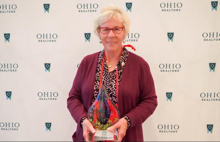 Sue Lusk-Gleich receives Ohio REALTORS 2021 Mary L. Pollock Lifetime Achievement Award