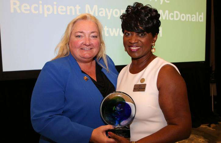 Ohio REALTORS honors Trotwood Mayor Mary McDonald with first-ever 'Public Service Award'