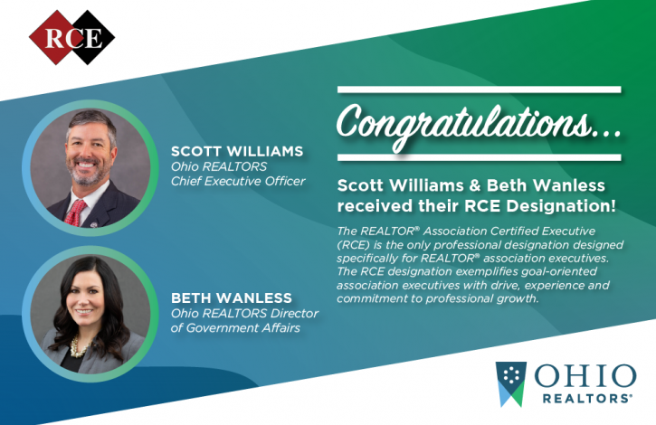 Williams and Wanless earn prestigious RCE designation!