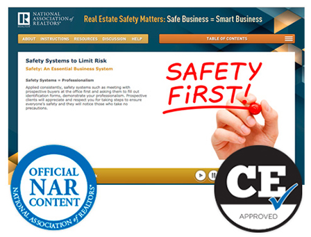 Real estate safety matters: Safe business = smart business