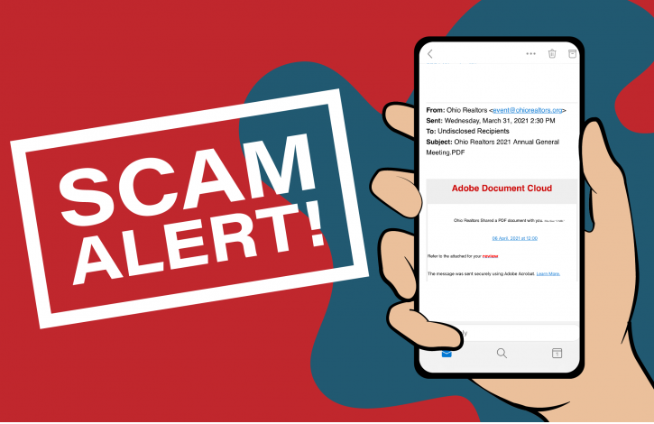 Scam email targets Ohio REALTORS!