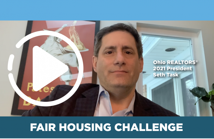 President Task asks Ohio REALTORS to meet the Fair Housing challenge!