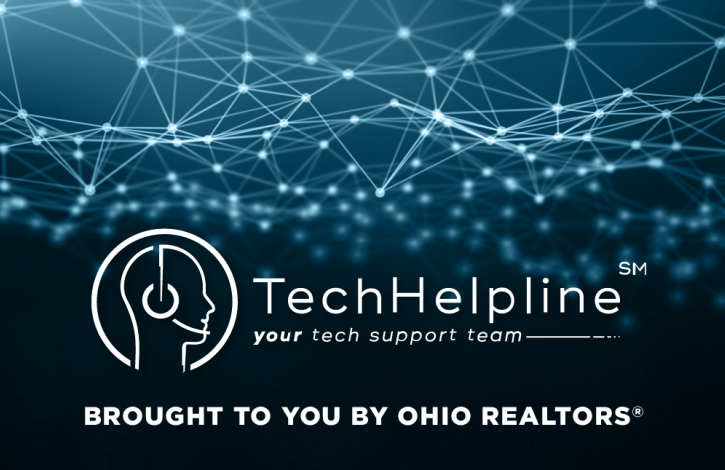 Tapping into your tech support member benefit from Ohio REALTORS Tech Helpline