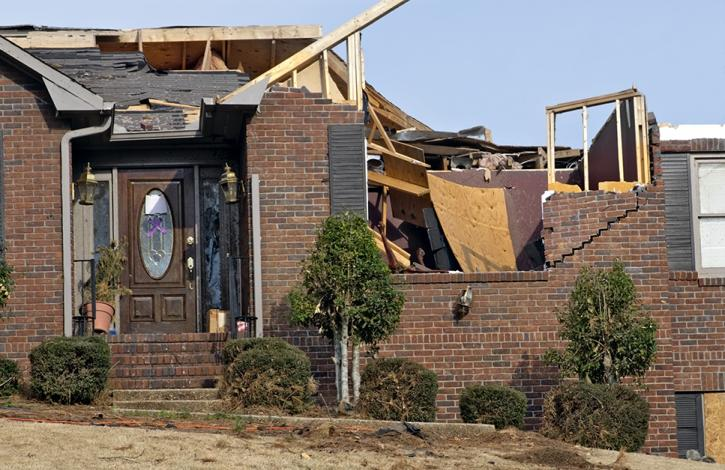 Potential tax relief for storm-damaged property owners