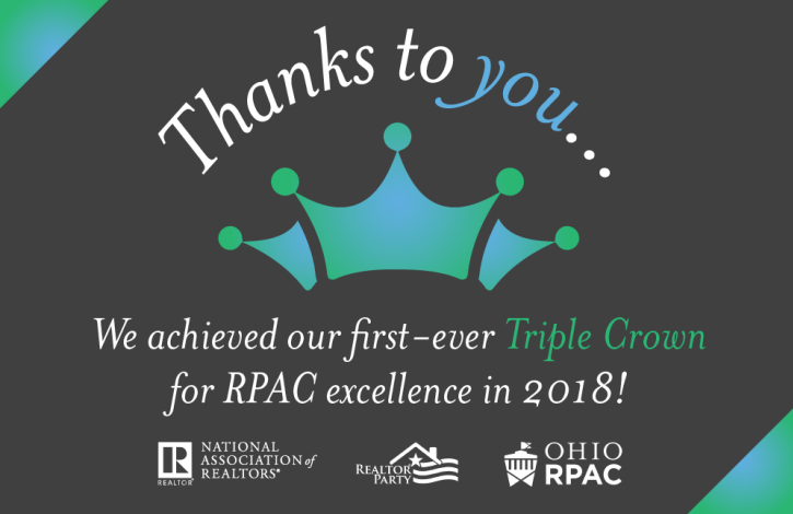 Ohio wins top RPAC honor from NAR!