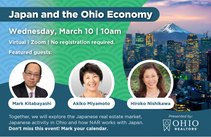 Ohio REALTORS to explore Japan's role in the state's economy
