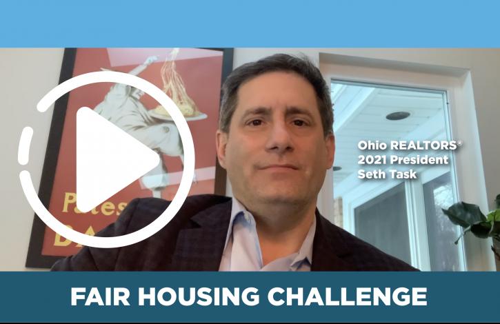 President Task asks Ohio REALTORS to meet the Fair Housing challenge!